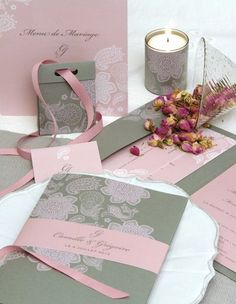 1000 images about fairt part on pinterest mariage for Deco vieux rose et gris