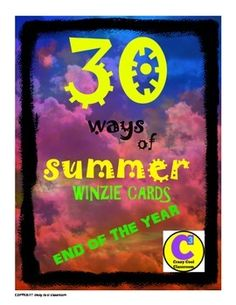 END OF THE YEAR REWARDS NEW! Have a great summer  WINZIE CARDSBack in the day, when we were young, we all had something to collect. Something tangible. I am so very excited to introduce these absolutely unique WINZIE cards, as my students call them. Now, why are they so unique?