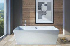 Vasca centro stanza carmel colore bianco lucido dimensioni compatte 160x65 cm adatte anche for Progetta il tuo bagno
