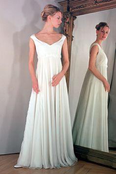 Umstandskleid für die schwangere Braut von La Rose Noire Couture auf DaWanda.com