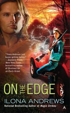 On the Edge ~ Ilona Andrews | Silk Screen Views ~ Soo