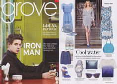 Grove magazine features Breil watches