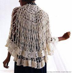 Delicacies in crochet Gabriela: Shawls