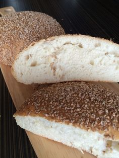 Natural Yeast Sesame Flat bread #Natural Yeast