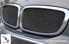 Black Chrome Is Sporty And Sophisticated And Popular Right Now With BMW Original Equipment. -  - RaceMesh Grills  - Photo #17