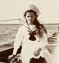 Grand Duchess Tatiana, on board the Marevo Yacht, 1906