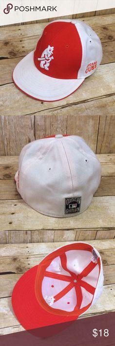 7d6858c22ba Chicago Cubs Cooperstown Flat Bill Baseball Hat Chicago Cubs Cooperstown  Collection Flat Bill Baseball Hat by