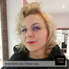 Pani Beata 😍🤩 Po prostu WOW‼️ Pozdrawiamy #optyk #optometrysta #okulary #oczy #wzrok #badanie #ekspert #promedoptyk #zaufanie #styl #moda Round Glass, Eyes, Glasses, Fashion, Eyewear, Moda, Eyeglasses, Fashion Styles, Eye Glasses