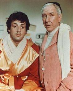Rocky Balboa and Mickey