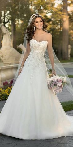 Wonderful Perfect Wedding Dress For The Bride Ideas. Ineffable Perfect Wedding Dress For The Bride Ideas. 2015 Wedding Dresses, Wedding 2015, Wedding Attire, Bridal Dresses, Wedding Gowns, Bridesmaid Dresses, Trendy Wedding, Wedding Blog, Wedding Ideas