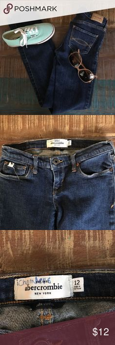 💗Abercrombie Jeans Size 12💗 Abercrombie Jeans Size 12. Shoes & Glasses not included Abercombie Kids Bottoms Jeans
