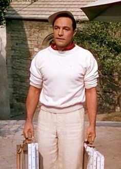 Gene Kelly in 'An American in Paris', 1951 - Directed by Vincente Minnelli. Old Hollywood Stars, Hooray For Hollywood, Hollywood Actor, Golden Age Of Hollywood, Vintage Hollywood, Classic Hollywood, Hollywood Icons, Hollywood Actresses, Gene Kelly Dancing