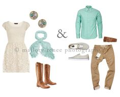 What to Wear: Engagement Session Outfit Combinations. $20.00, via Etsy.