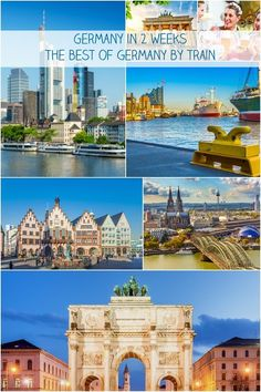 Germany itinerary. See the highlights of Germany with this train itinerary: Berlin – Hamburg – Cologne – Frankfurt – Munich. These cities can be visited by train in 10 to 14 days with this Halo Travel tour