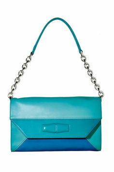 Taschen 2014: Handtaschen werden jetzt bunt - wie diese Tasche von Longchamp (© Studio Condé Nast)