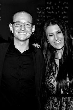 Chester And Talinda Bennington ♥