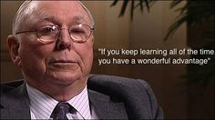 Warren Buffett and Charlie Munger explain how to outsmart people who are clearly smarter than you. Brainy Quotes, Wise Quotes, Great Quotes, Quotes To Live By, Motivational Quotes, Charlie Munger, Value Investing, Street Smart, Marketing Quotes