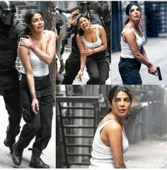 Caught & clicked! Priyanka Chopra shoots an intense action sequence for Quantico 2