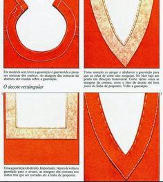 Moda e Dicas de Costura: REMATES E ACABAMENTOS