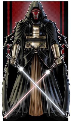 TieFighters — Darth Revan Created by Terry Huddleston Star Wars Darth Revan, Star Wars Sith, Darth Vader, Star Wars Pictures, Star Wars Images, Star Wars Kotor, Star Wars The Old, Samurai, Sith Lord