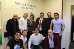 Alex Souza, craque de bola, craque também na solidariedade, no dia em que teve uma sala com seu nome inaugurada no Hospital Pequeno Príncipe em Curitiba.