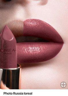 L & # Oreal Paris Russland – Make up – # Oreal - Makeup Tutorial Lipstick Makeup Dupes, Skin Makeup, Makeup Eyeshadow, Makeup Products, Gel Eyeliner, Makeup Brushes, Beauty Products, Lipstick Swatches, Lipstick Shades
