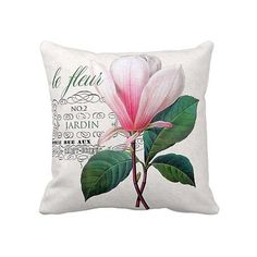 Vibrant, and beautiful...le fleur pink botanical pillow cover    >>>100% cotton front    >>>burlap envelope style in back    >>>cotton back available