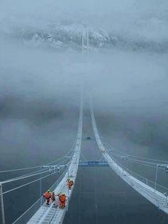 sky bridge norvège