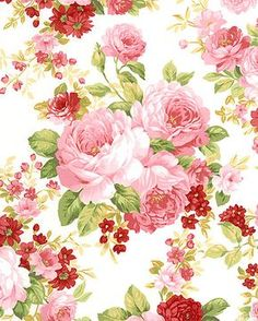 Elm Creek Quilts - Sarah's Rose Collection - White