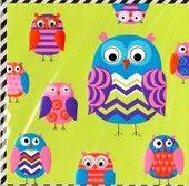 Limecard owls (2-os). Kaksiosainen, tekstitön kortti. Kohopainatusta. Käytetty fluoresoivaa painomustetta joka luon neon-efektin. Raidallinen mustavalkokuori. Englantilainen kortti, maahantuonti Karto (3,70). Hinta: 2,5e