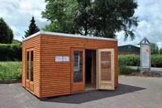 Gartenhaus Kubus http://www.blockhaus-24.de/einsatzmoeglichkeiten-gartenhaus-kubus/