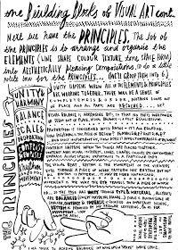 Dan Haycocks principles of design Elements And Principles, Elements Of Art, Middle School Art, Art School, High School, School Ideas, Art Handouts, Art Basics, Art Worksheets