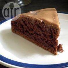 Gâteau au chocolat  et à la mayonnaise @ qc.allrecipes.ca