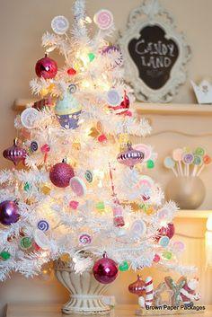 Little White Christmas Tree <3
