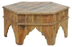 Marrakech Coffee Table, Reclaimed Wood