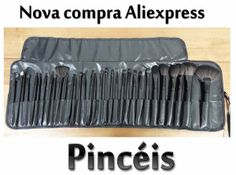 Novidades: Pincéis do Aliexpress... Tem resenha no blog!