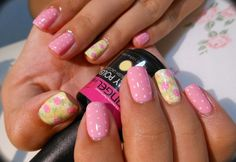 Pink-Nail-Art-Designs-Gallery-2015-for-Modern-Ladies-24.jpg (650×448)