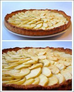 Tarte aux pommes - torta di mele alla francese √