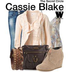 Inspired by Britt Robertson as Cassie Blake on The Secret Circle.