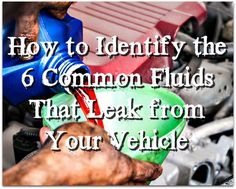 5 things every vehicle owner should know auto services auto how to identify the 6 common fluids that leak from your vehicle auto services auto repair shop phoenix arizona solutioingenieria Image collections