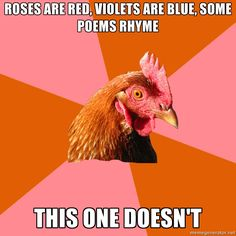 Anti Joke Chicken via Meme Generator