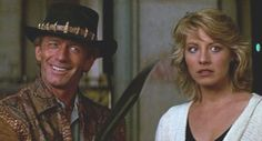 Paul Hogan and Linda Kozlowski - Crocodile Dundee