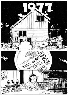 paul pope thb | Paul Pope – 1977. From THB Comics From Mars Issue 2 by Paul Pope ...