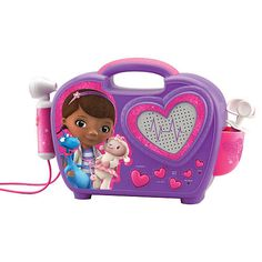"Find an amazing variety of Doc McStuffins toys, games, play sets, dress up kits, and more at Toys""R""Us. We have many high quality Doc McStuffins items to choose from. Doc Mcstuffins, All Toys, Toys R Us, Popular Cartoons, Musical Toys, Disney Junior, Disney Toys, Kids Store, Boombox"