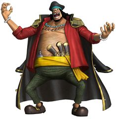 One Piece: Pirate Warriors - Marshall D. Teach, Kurohige