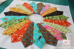 Piece N Quilt: How to make GO! Dresden Plates