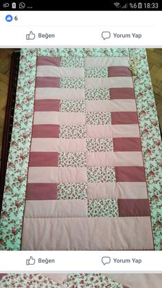 40 yama The actual umbrella – which also comes with a smaller scrub major in Patchwork Table Runner, Table Runner Pattern, Quilted Table Runners, Quilt Patterns Free, Pattern Blocks, Free Pattern, Panda Quilt, Designer Bed Sheets, Free Motion Quilting
