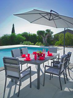 Sesselauflage Poppi in Hellgrau online kaufen ➤ mömax Outdoor Tables, Outdoor Decor, Aluminium, Outdoor Furniture Sets, Sammy, Modern, Patio, Home Decor, Lunch Table