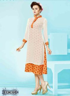 Buy Attractive White Colored Georgette Kurti Get 30% Off + 10% Extra Off on Casual Kurtis From Leemboodi Fashion with Free Shipping in INDIA Now Available on COD #trendy #kurtis #womens #ladies #womensfashion #ladiesfashion #womensweardaily #womenswear #shoponline #onlineshopping #onlinestore #onlineshop #instaclothes #shopping #trends #fashioninsta #desifashion #indiashopping #indianfashion #shopnow #fashionstyle at #leemboodi #fashion #ontrend #indianwear #casualclothes #casualkurti