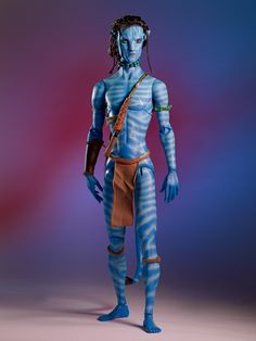 Jake from the film Avatar - full length shot #pinned - from our Avatar collection. ^kv #dollchat Avatar Collection | Tonner Doll Company